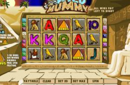 скрин из игрового автомата онлайн Wild Mummy бесплатно