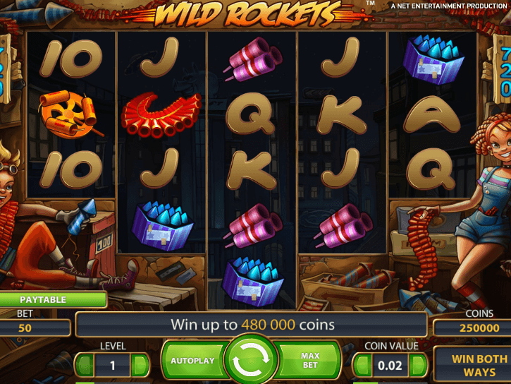 Ставок онлайн игровой автомат wild rockets дикие ракеты играть бесплатно онлайн бокс
