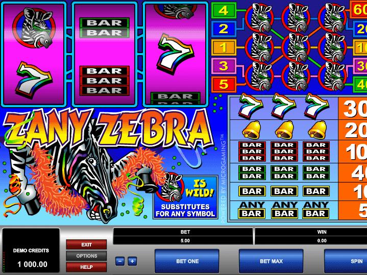 Zany zebra игровой автомат что делает операторами игровых автоматов