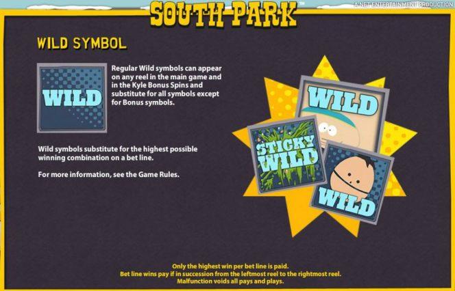 South Park онлайн игровой автомат – дикие символы