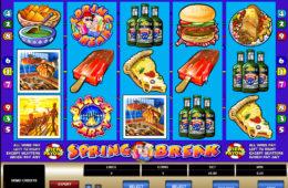 Азартный игровой автомат играть онлайн на деньги Spring Break