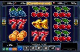 Скрин игрового автомата Supreme Hot играть бесплатно онлайн
