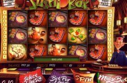 Казино игровой автомат Sushi Bar играть онлайн бесплатно