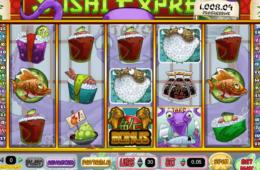 Бесплатный онлайн игровой автомат  Sushi Express