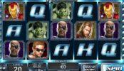 Бесплатный игровой автомат The Avengers