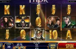 Бесплатный онлайн игровой автомат Thor