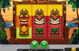 Изображение из игрового автомата Tiki Shuffle