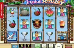 Бесплатный онлайн игровой автомат Tropical Holiday