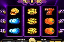 Азартный игровой автомат играть онлайн на деньги Turbo 27