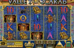 Бесплатный онлайн игровой автомат Valley of the Scarab