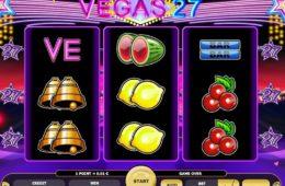 Азартный игровой автомат играть онлайн на деньги Vegas 27