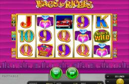Wags to Riches бесплатный онлайн игровой автомат