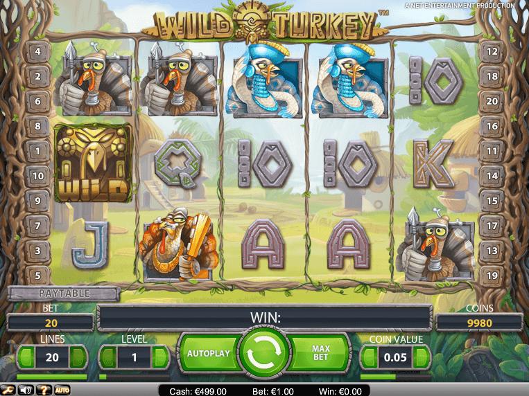 Игровой автомат Wild Turkey в казино Азино