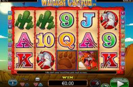 Азартный игровой автомат играть онлайн на деньги Wildcat Canyon