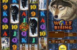 Бесплатный онлайн игровой автомат Wolf Rising