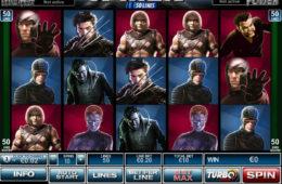 Изображение игрового автомата X-men 50 Lines