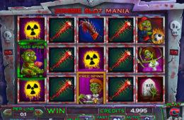 Zombie Slot Mania играть бесплатно онлайн игровые аппараты