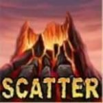 Scatter symbol of free slot machine Dragon Island