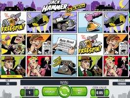 picture of Jack Hammer vs. Evil Dr. Wuten free online slot