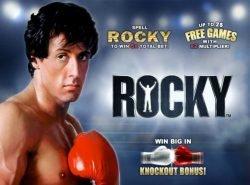 экран загрузки Rocky