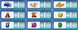 Paytable of free online slot Cash Wave