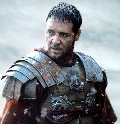 Russell Crowe like Gladiator