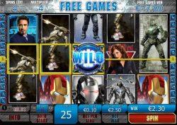 Online free slot Iron Man 2
