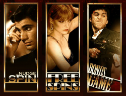 Scarface Free Slot machine - Stacked Wilds