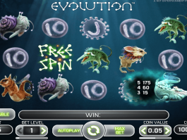 picture of slot game Evolution free online