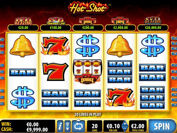Hot Shots Slot Machine Online