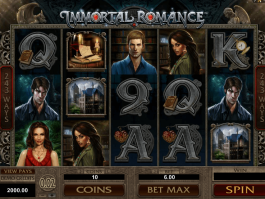 picture of slot Immortal Romance free online