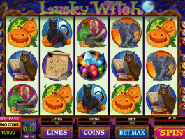 pic of slot lucky witch online free