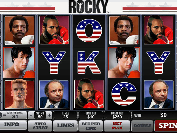 Rocky Slot Game Review