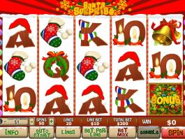 picture of online free slot Santa Surprise