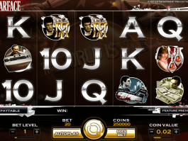 pic of slot game Scarface free online