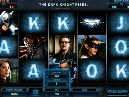 pic of slot The Dark Knight Rises free online