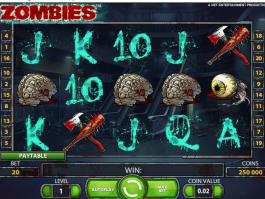 pic of slot game Zombies free online