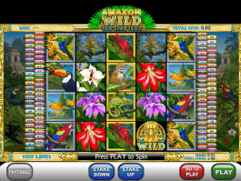 pic of slot Amazon Wild free online