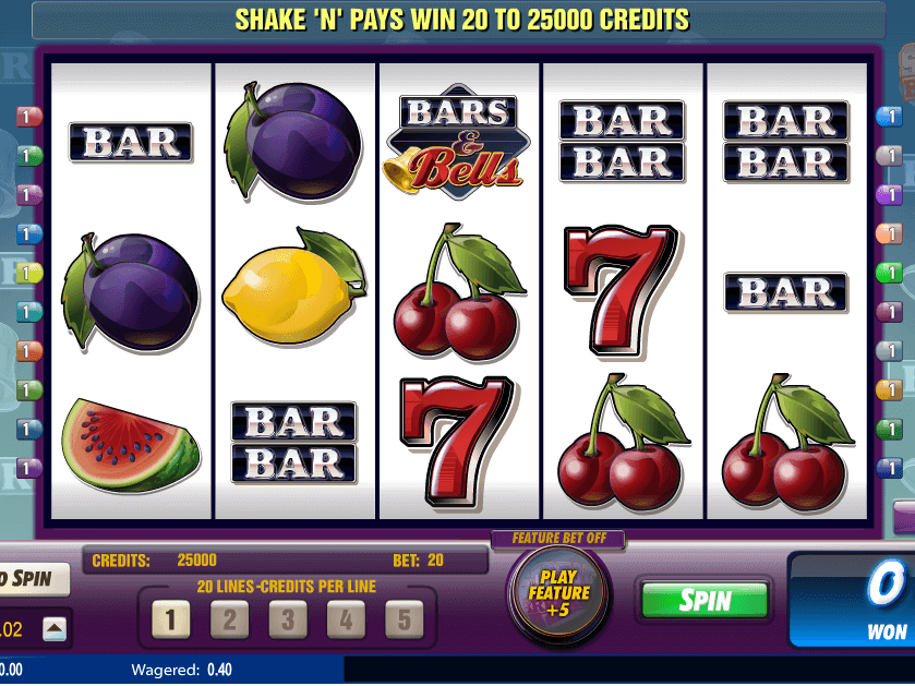 picture of free online slot Bars and Bells