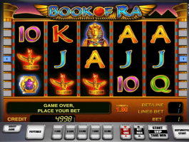 Picture of free online slot Book of Ra