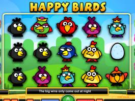 pic of slot Happy Birds free online