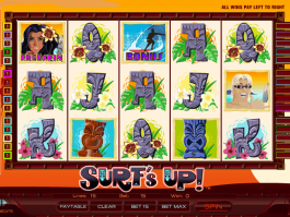 picture of slot Surf´s Up online free
