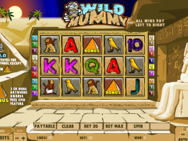 picsture of slot Wild Mummy online free