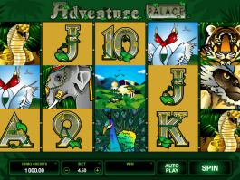 picture from free online slot Adventure Palace