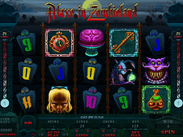picture from Alaxe in Zombieland free slot online