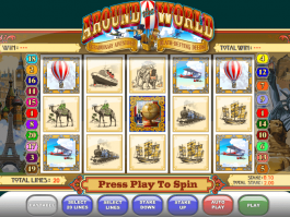 picture of slot Around the World free online