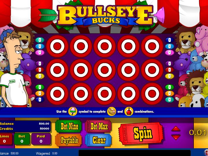 pic of free online slot Bullseye Buck