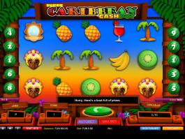 picture of free online slot Caribbean Cashpot