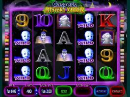 Pic of free online slot Casper´s Mystery Mirror