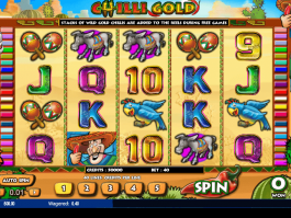 Picture from slot Chilli Gold free and online